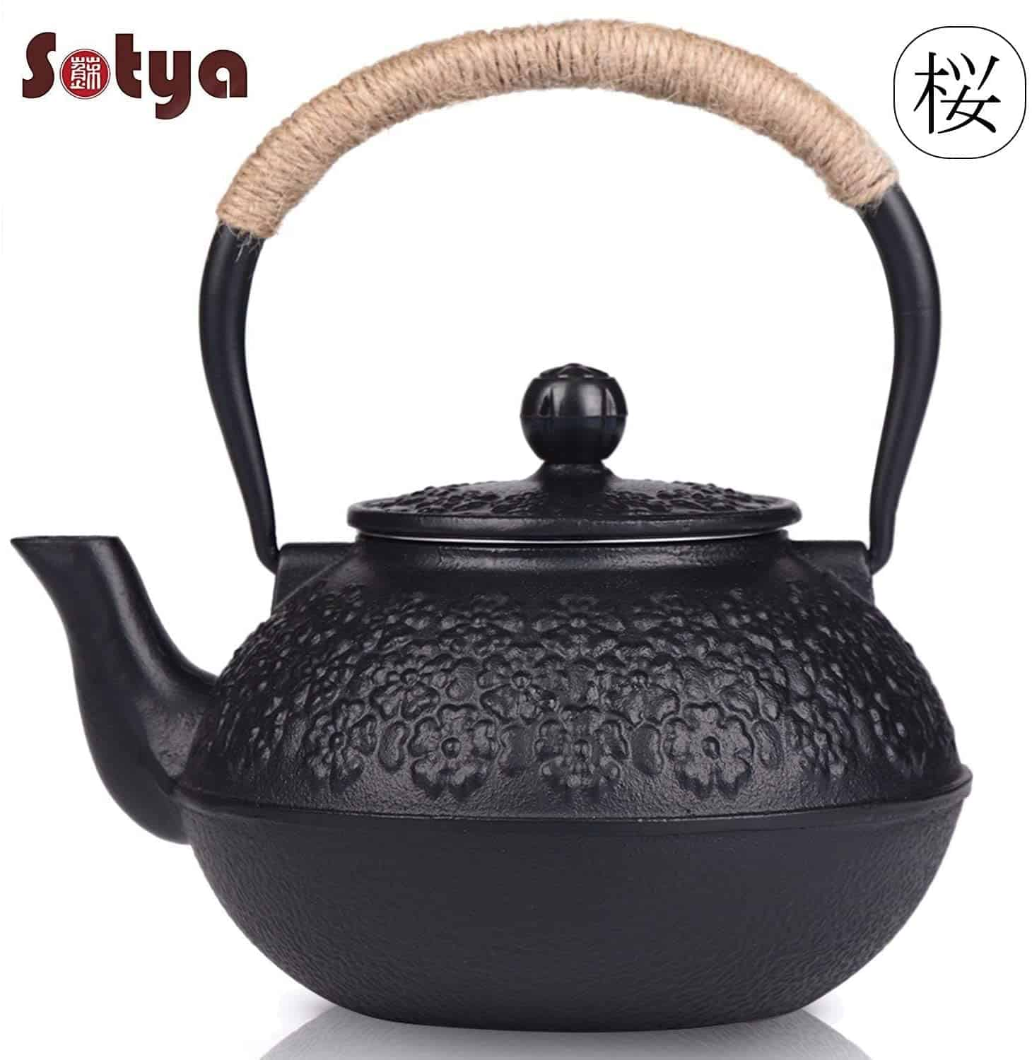 Sotya Japanese Cast Iron Teapot
