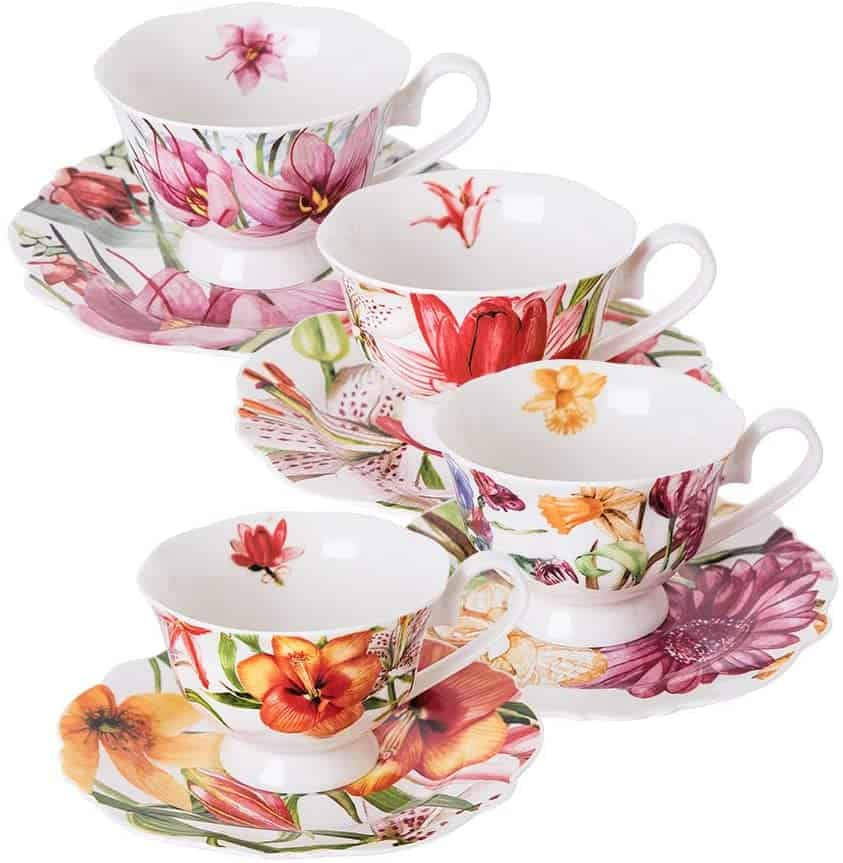 Eileens Reserve Tea Cup And Saucer