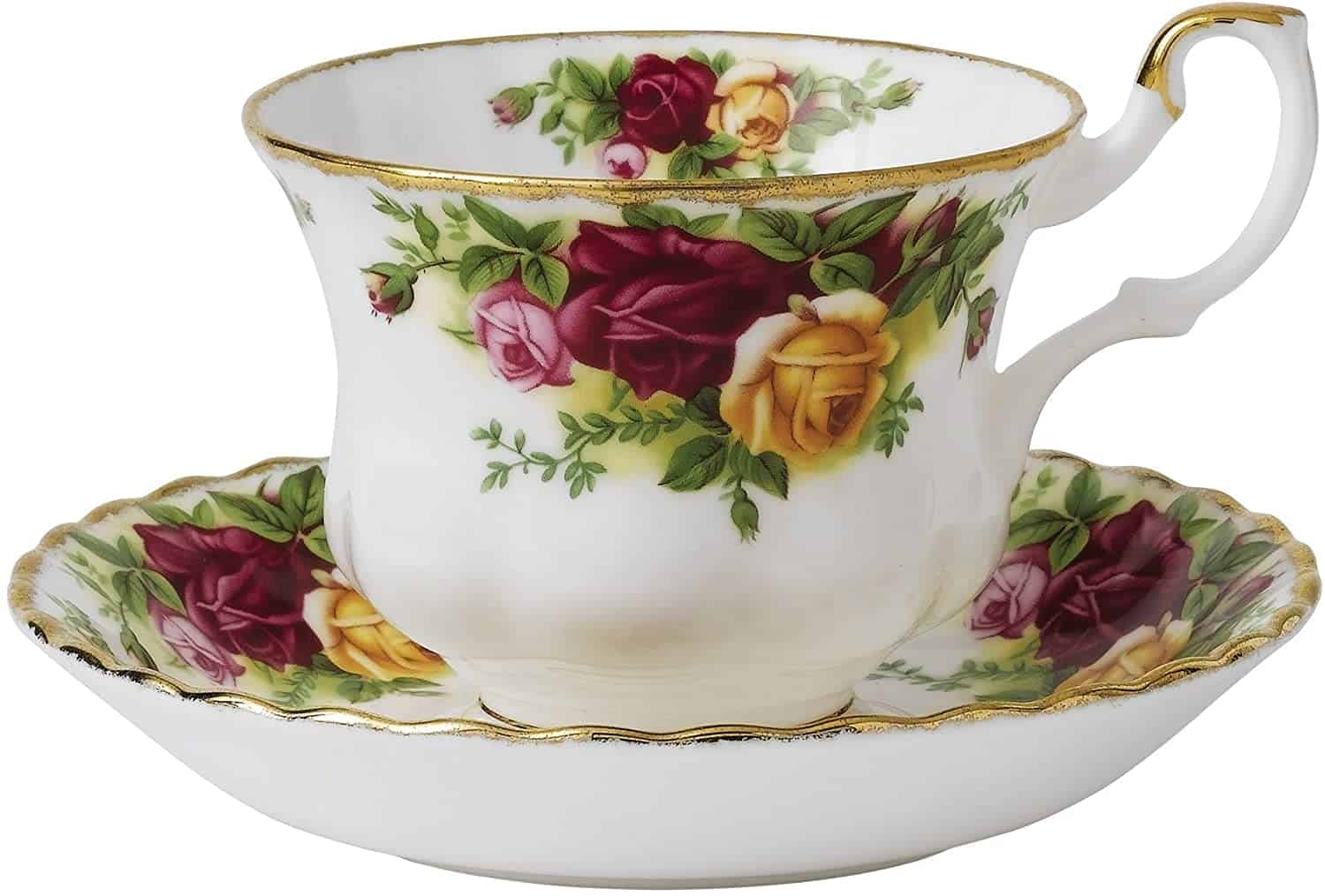 Royal Albert Old Country Roses Tea Cup Saucer Set