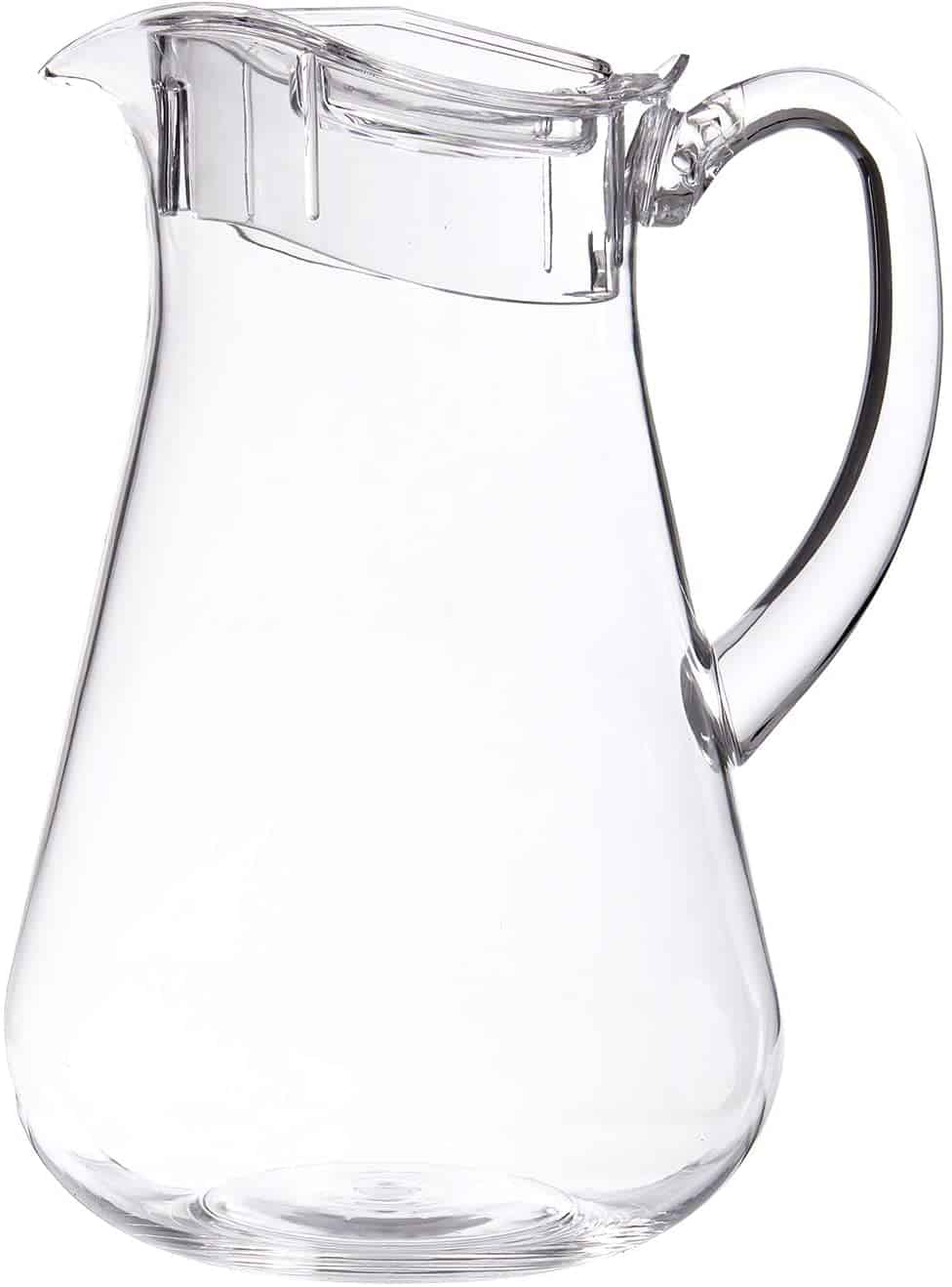 STORi Clear Plastic 64 ounce Pitcher