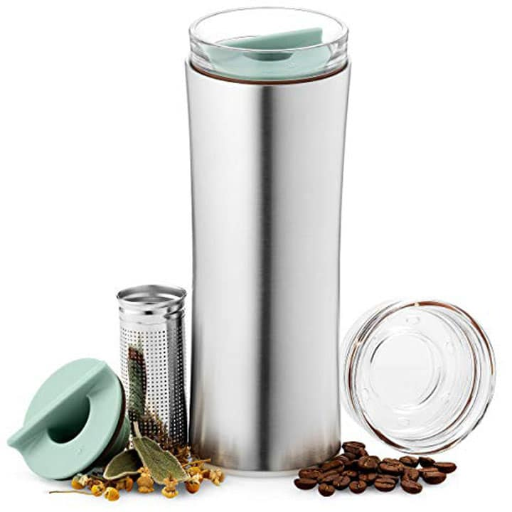 best tea infuser travel mug