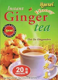 Instant Ginger Tea with Honey