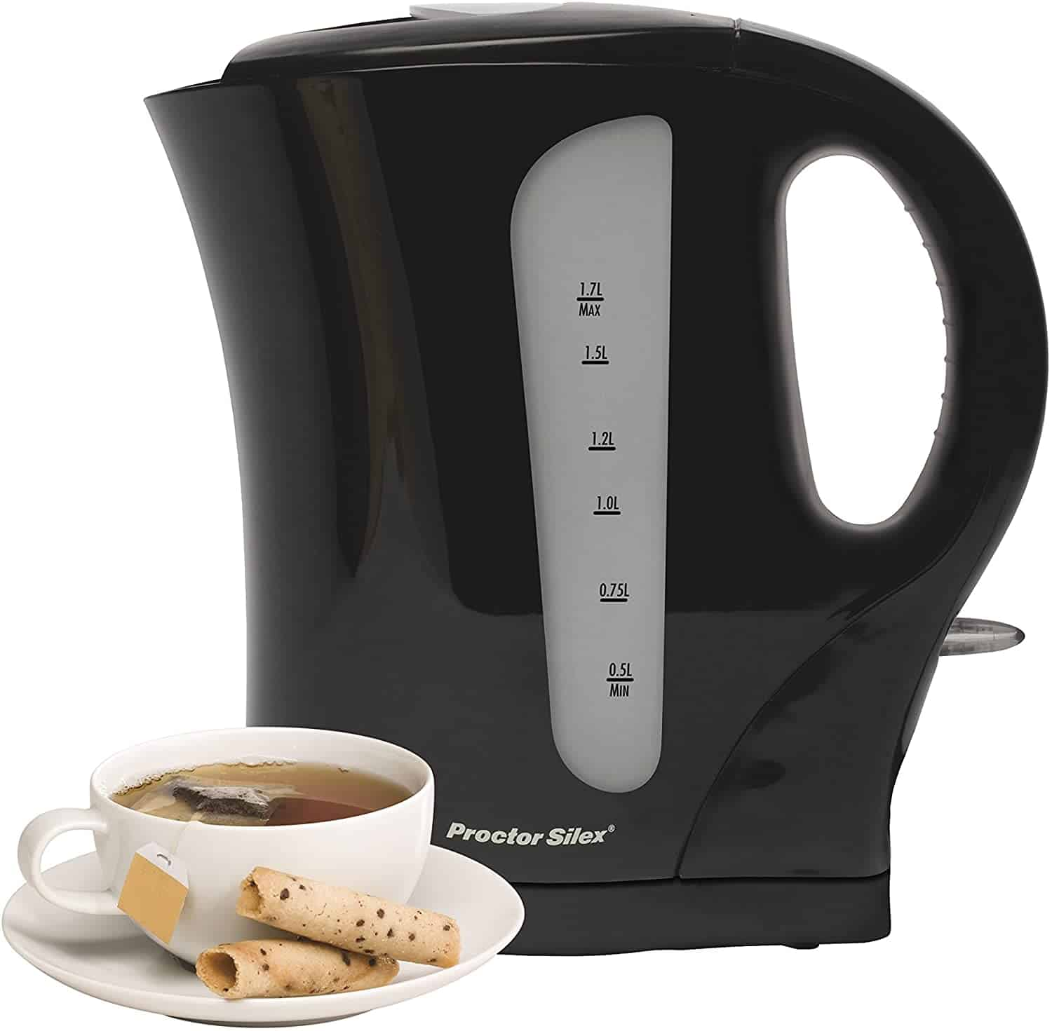 Proctor Silex Electric Tea Kettle 1.7 Liter