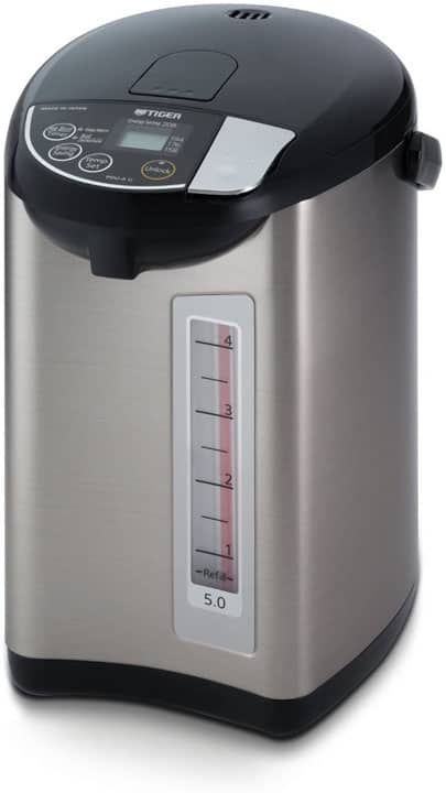 Tiger PDU A50U K Electric Water Boiler and Warmer Stainless Black 5.0 Liter