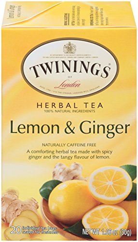 Twinings of London Lemon Ginger Herbal Tea