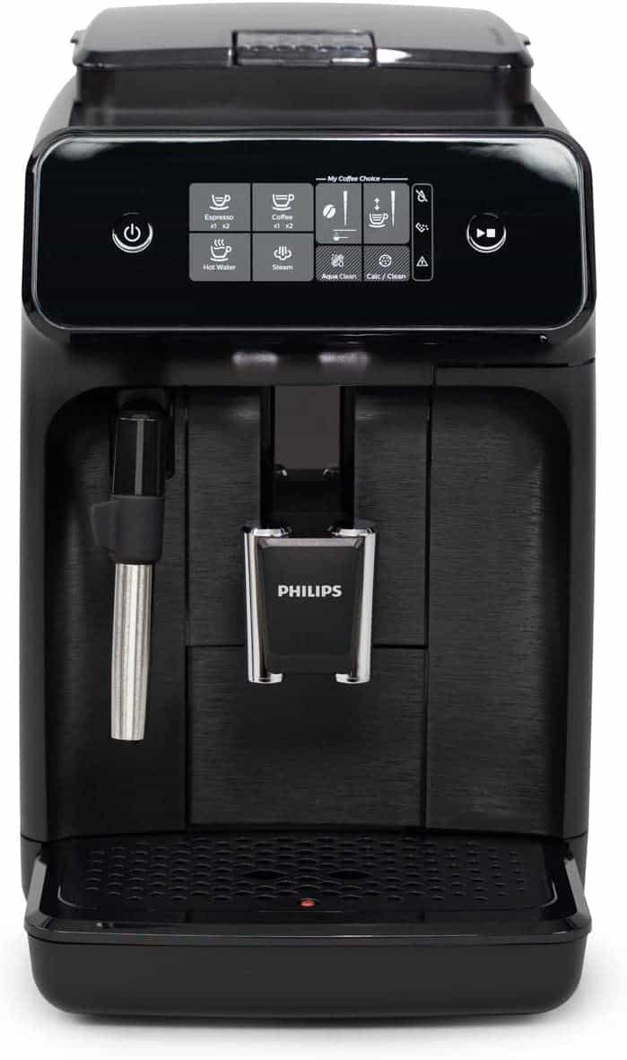 Philips Carina 1200 Series Compact Super Automatic All In One Programmable Espresso Machine
