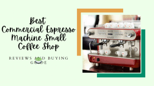 Commercial Espresso Machine Small Coffee Shop