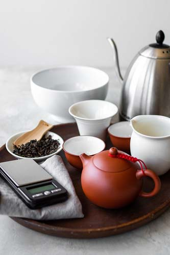 how to make tea with a teapot